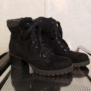 Universal Thread Microsuede Heeled Boots